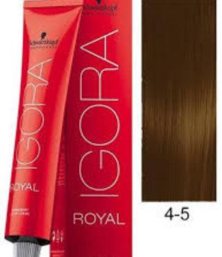 4-5 Medium Brown Gold 60g - Igora Royal by Schwarzkopf