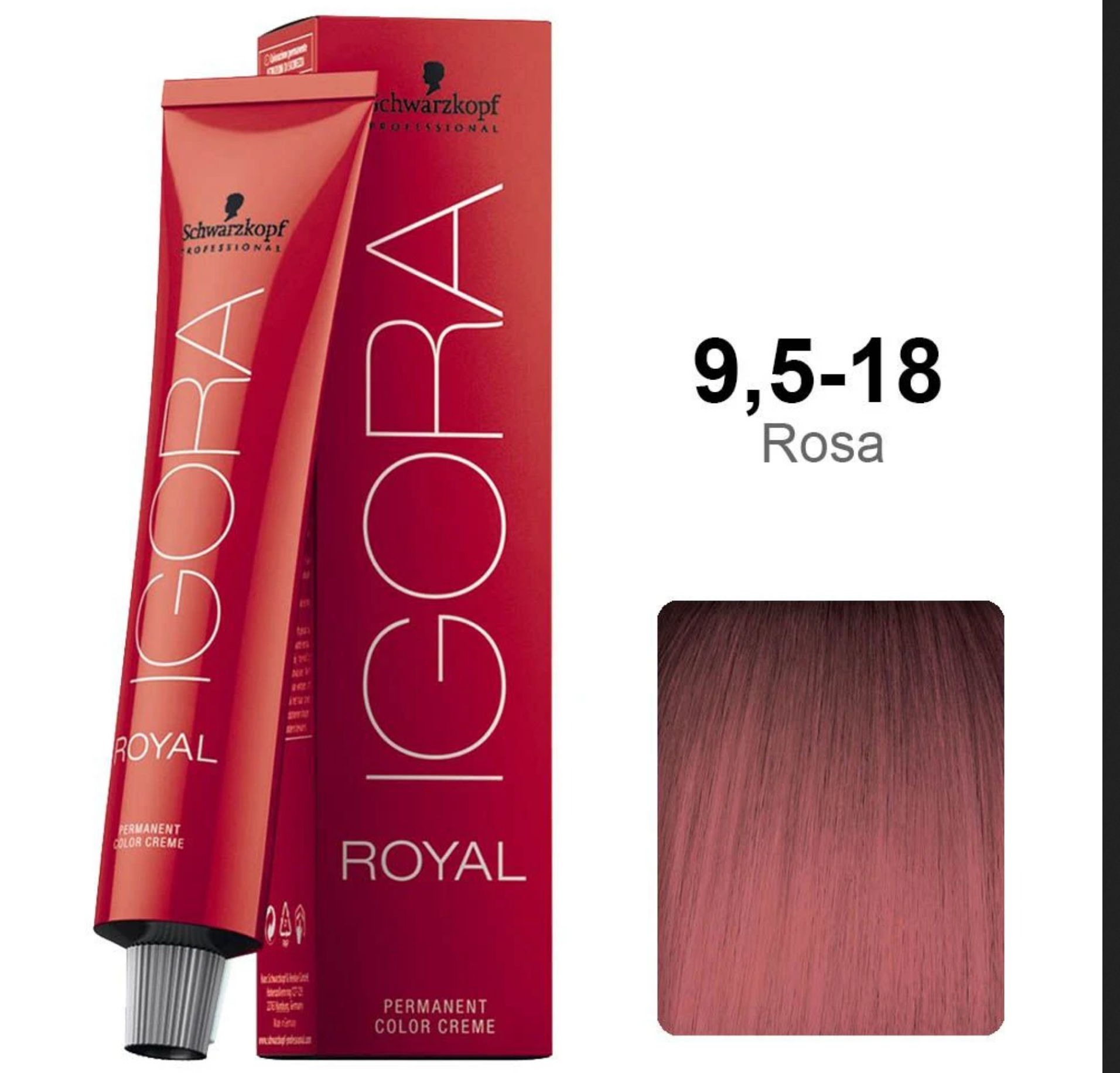 9.5-18 Rose 60g - Igora Royal by Schwarzkopf