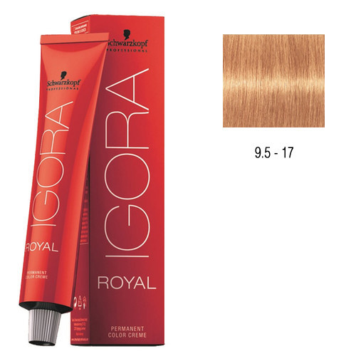 9.5-17 Peach 60g - Igora Royal by Schwarzkopf