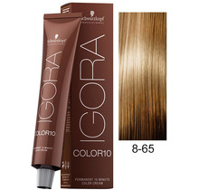 8-65 Light Auburn Gold Blonde 60g - Igora Royal by Schwarzkopf