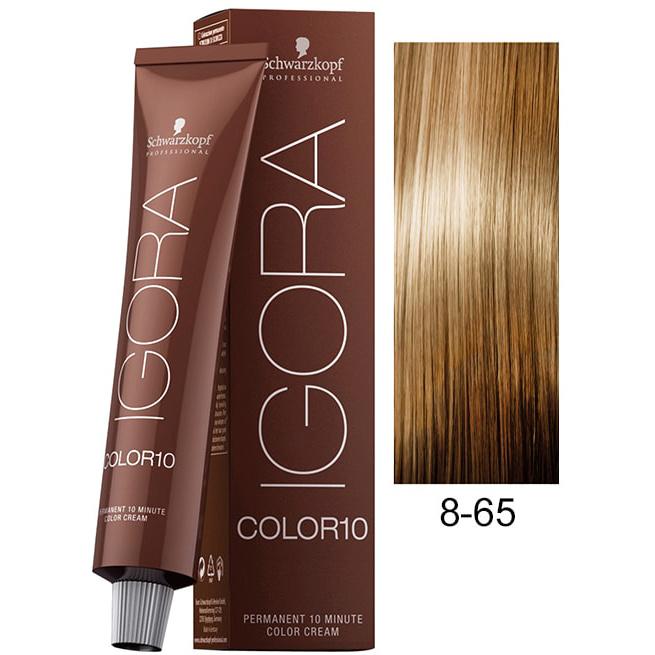 8-65 Light Auburn Gold Blonde 60g - Igora Royal by Schwarzkopf