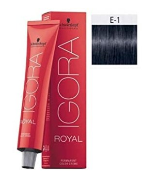 E-1 Cendre Extract 60g - Igora Royal by Schwarzkopf