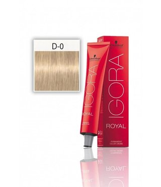 D-0 Diluter Neutral 60g - Igora Royal by Schwarzkopf