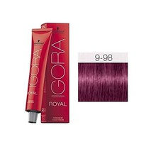 9-98 Extra Light Blonde Violet Red 60g - Igora Royal by Schwarzkopf