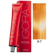 9-7 Extra Light Blonde Copper 60g - Igora Royal by Schwarzkopf