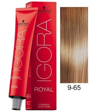 9-65 Extra Light Blonde Chocolate Gold 60g - Igora Royal by Schwarzkopf