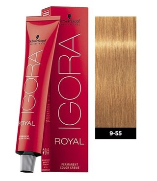 9-55 Extra Light Blonde Gold Extra 60g - Igora Royal by Schwarzkopf