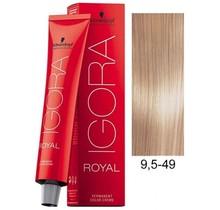 9.5-49 Platinum Blonde Beige 60g - Igora Royal by Schwarzkopf
