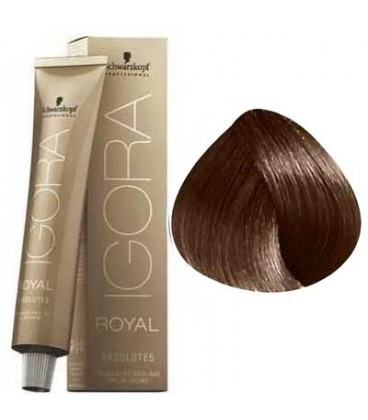 6-60 Dark Blonde Chocolate Natural 60g - Igora Royal Absolutes by Schwarzkopf