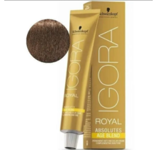 6-07 Dark Blonde Copper Natural 60g - Igora Royal Absolutes by Schwarzkopf