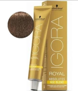 6-07 Dark Blonde Copper Natural 60g - Igora Royal Absolutes by Schwarzkopf