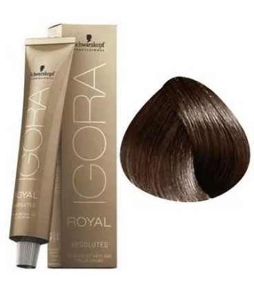 5-60 Light Brown Chocolate Natural 60g - Igora Royal Absolutes by Schwarzkopf