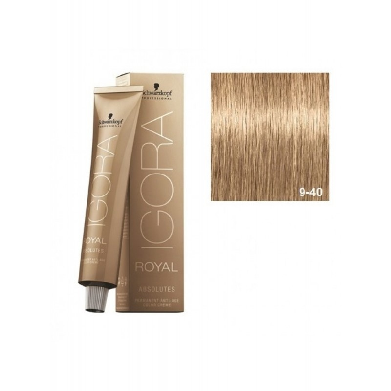9-40 Extra Light Blonde Beige 60g - Igora Royal Absolutes by Schwarzkopf