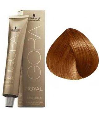 7-70 Medium Blonde Copper Natural 60g - Igora Royal Absolutes by Schwarzkopf