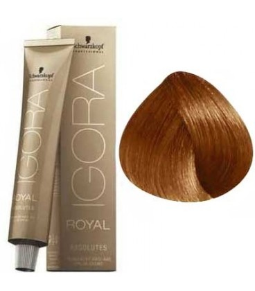 7-70 Medium Blonde Copper Natural 60g - Igora Royal Absolutes by Schwarzkopf