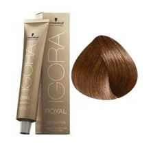 7-60 Medium Blonde Chocolate Natural 60g - Igora Royal Absolutes by Schwarzkopf