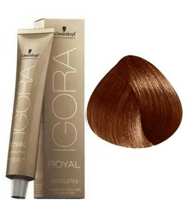 6-70 Dark Blonde Copper Natural 60g - Igora Royal Absolutes by Schwarzkopf