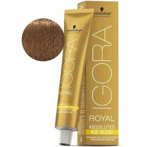7-450 Medium Blonde Gold 60g - Igora Royal Absolutes by Schwarzkopf