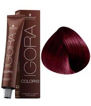 4-89 Color10 Medium Brown Red Violet  60g - Igora Color10 by Schwarzkopf