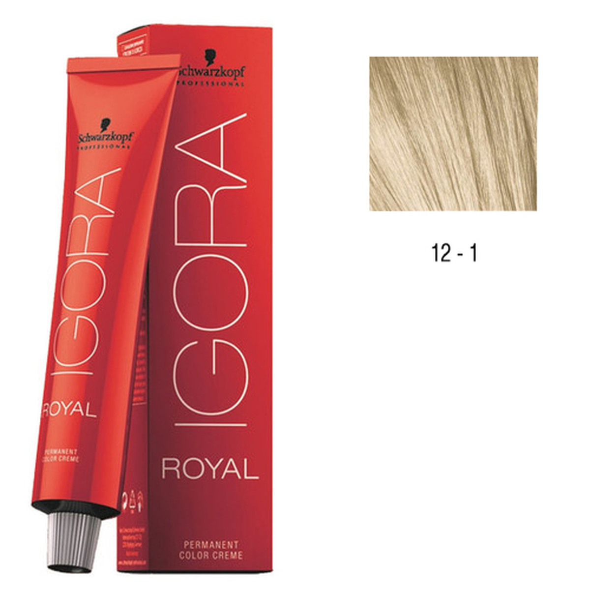 12-1 Special Blonde Cendre HighLift 60g - Igora Royal by Schwarzkopf