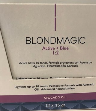 BlondMagic Blue Bleaching Powder 12 x 15g Sachets