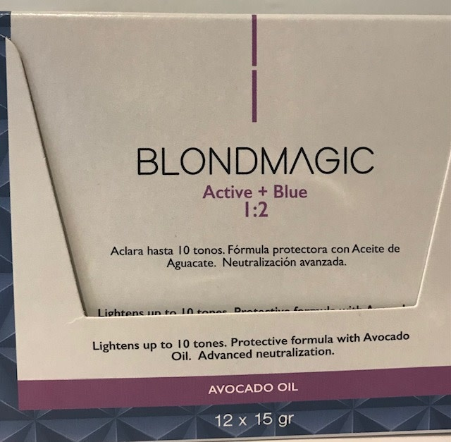BlondMagic Blue Bleaching Powder 12 x 15g Sachets