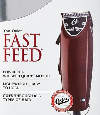 OSTER CLIPPER FAST FEED