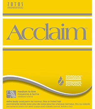 Zotos Acclaim Extra Body Perm Medium(yellow)