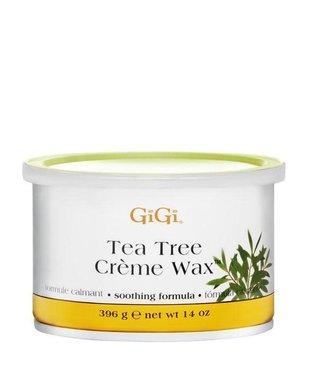 GiGi Tea Tree Creme Wax 14oz