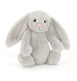 Jellycat Bashful Grey Bunny Md