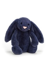 Jellycat Bashful Navy Bunny Md