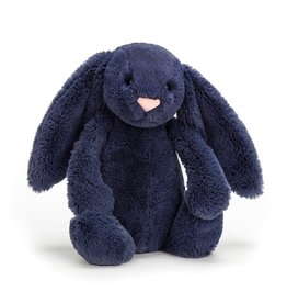 Jellycat Bashful Navy Bunny Md