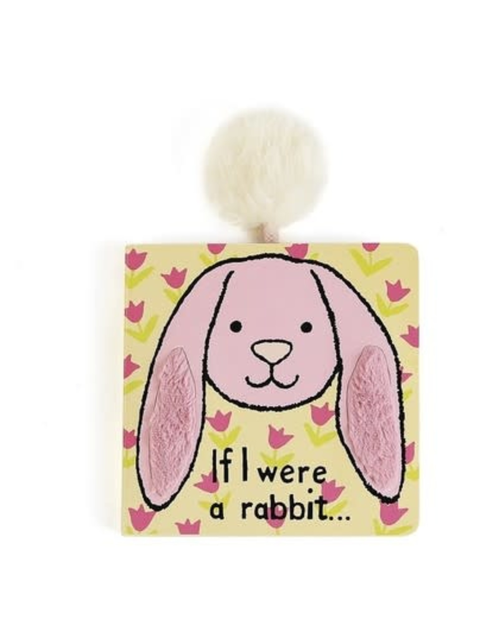 Jellycat If I Were a Rabbit Book (Tulip Pink)