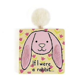 Jellycat If I Were a Rabbit Bk (Tulip Pink)