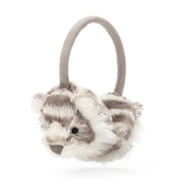 Jellycat Sacha Snow Tiger Ear Muffs