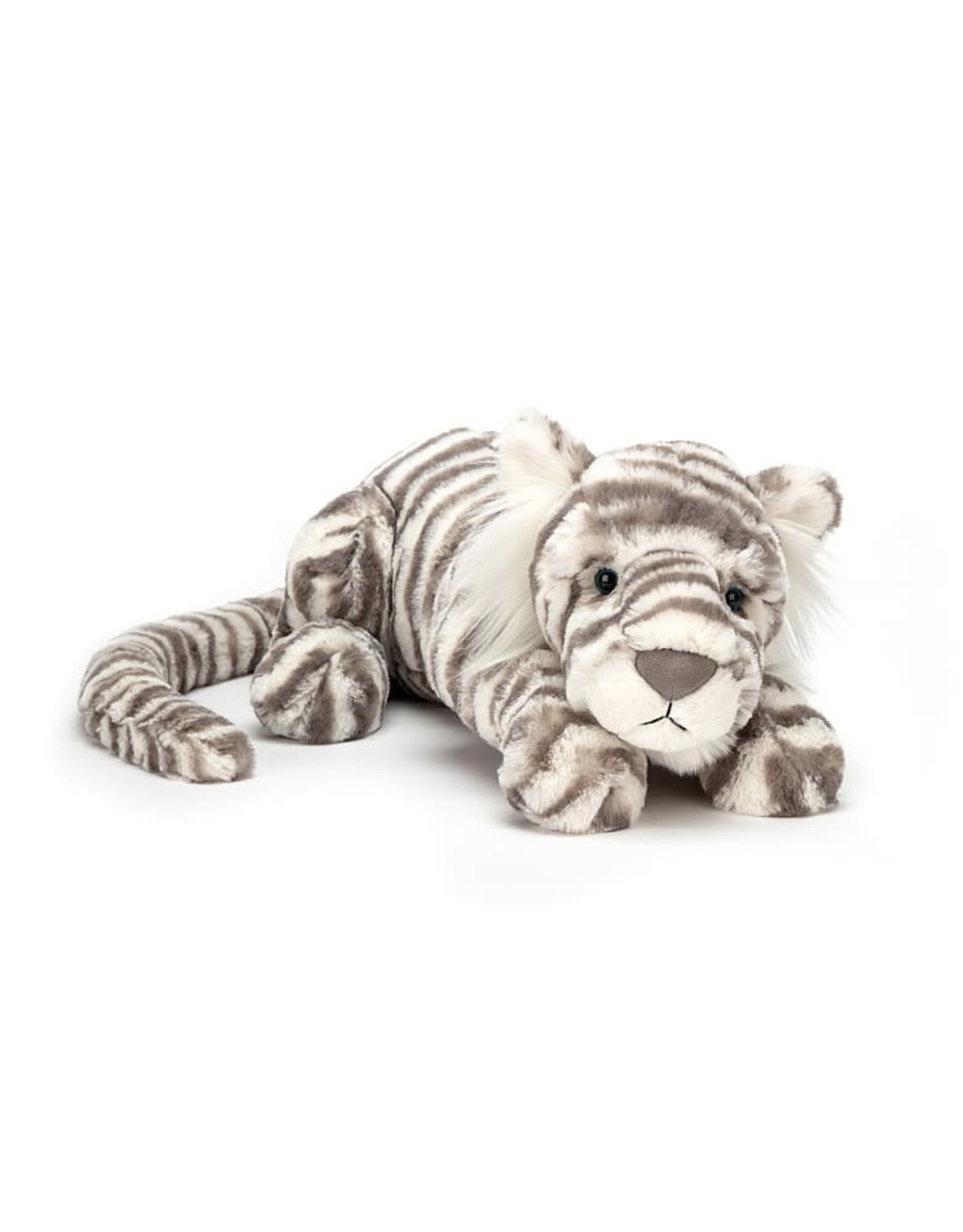 Jellycat Sacha Snow Tiger LIttle
