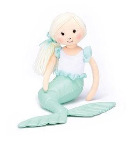 Jellycat Shellbelle Maddie Mermaid Green