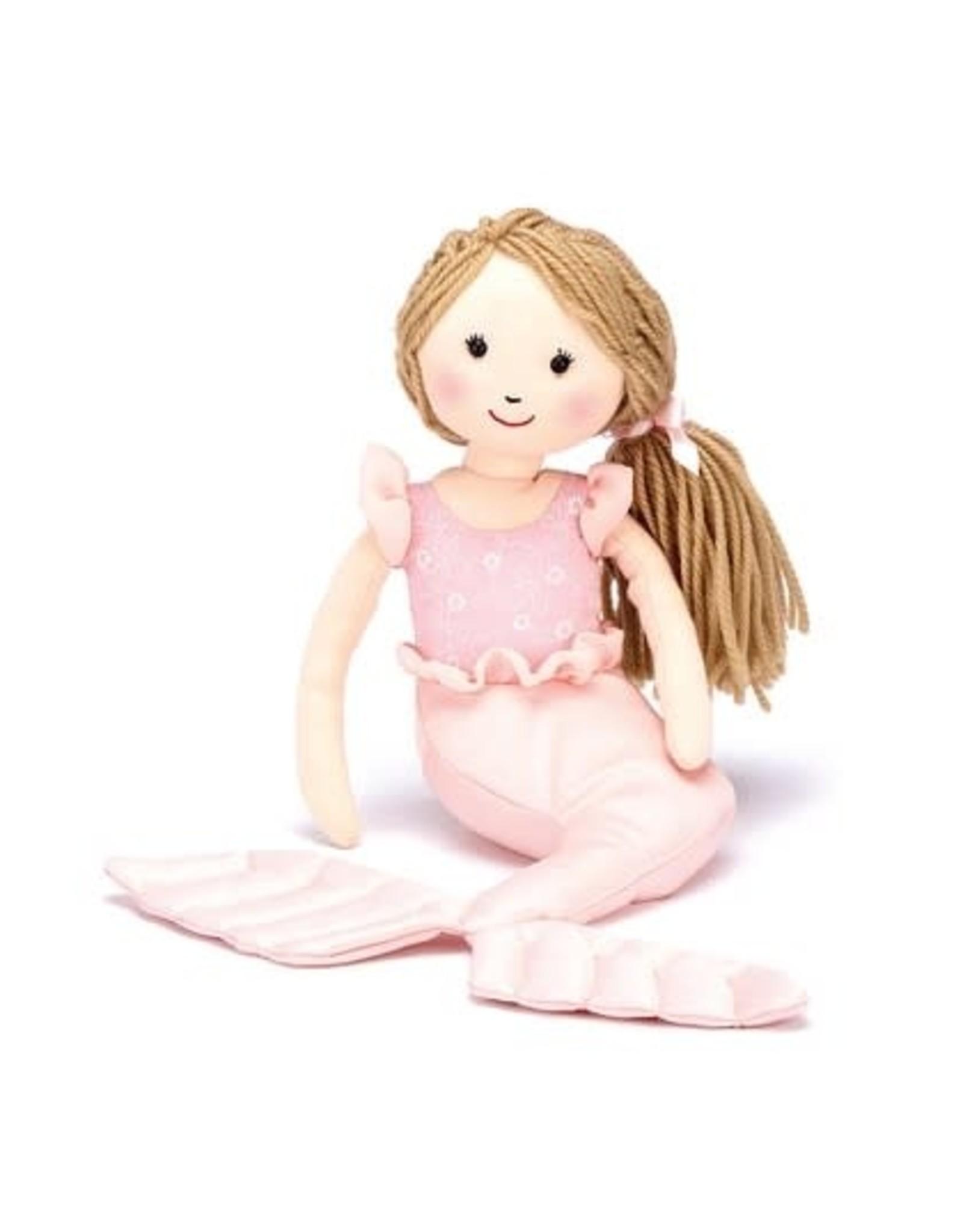 Jellycat Shellbelle Millie Mermaid Pink