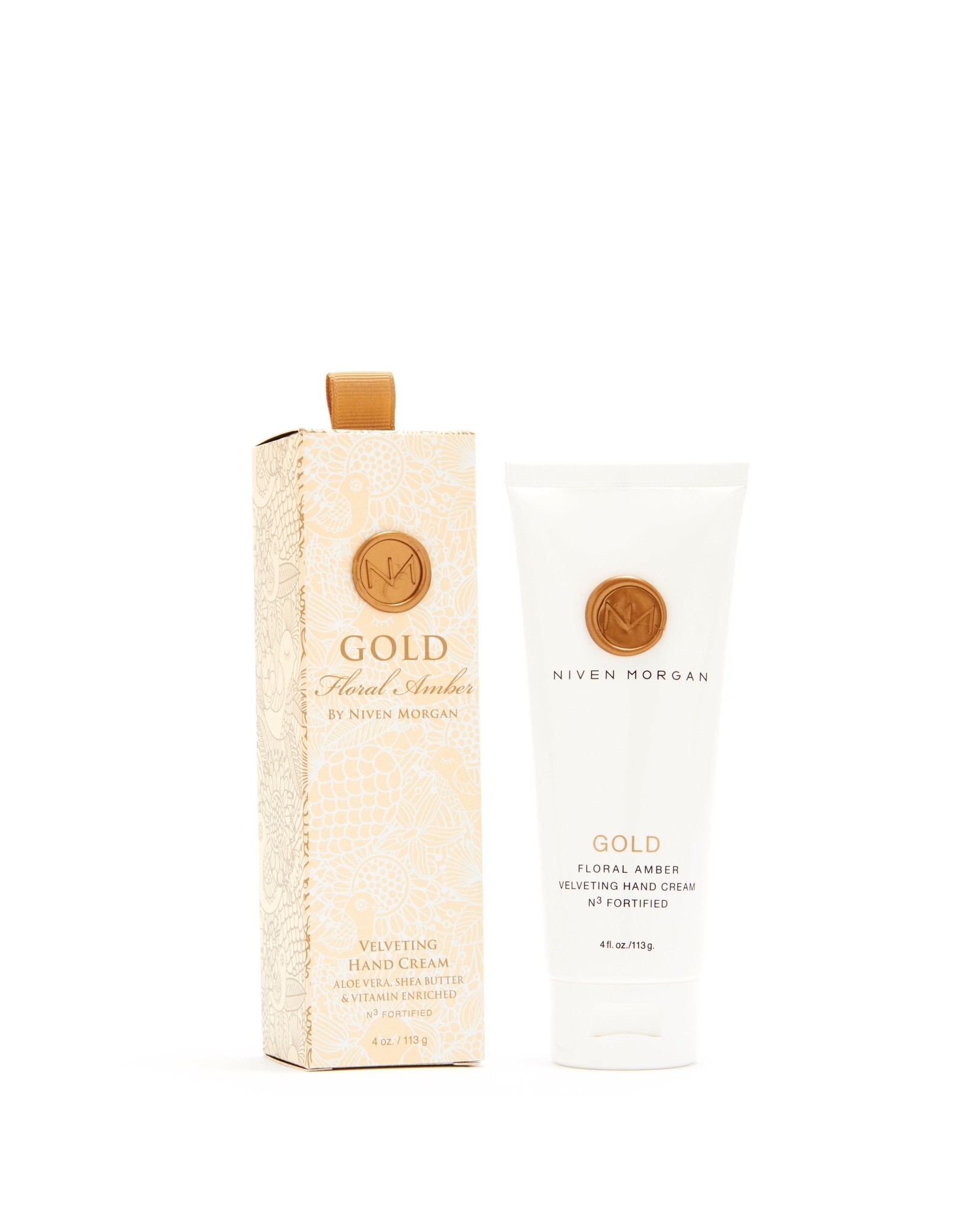 Niven Morgan Niven Morgan Gold Hand Cream 4oz