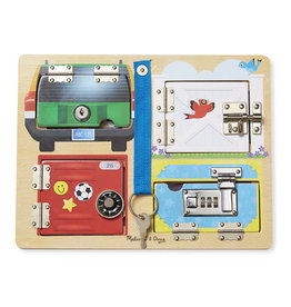 Melissa & Doug Locks & Latches Board
