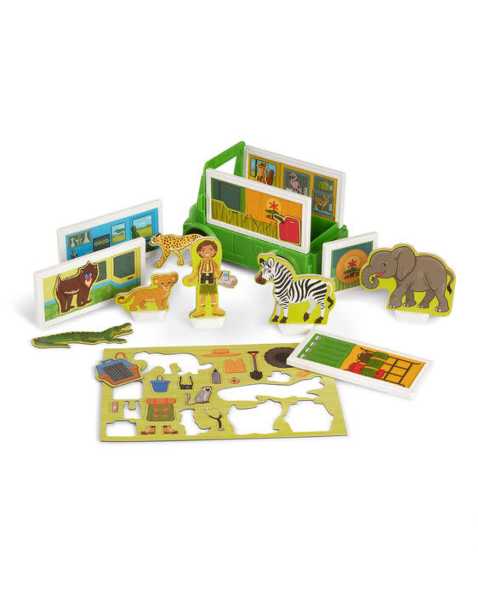 Melissa & Doug Magnetivity-Safari Rescue