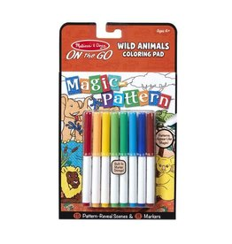 Melissa & Doug On the Go Magic Pattern Pad-Wild Animals