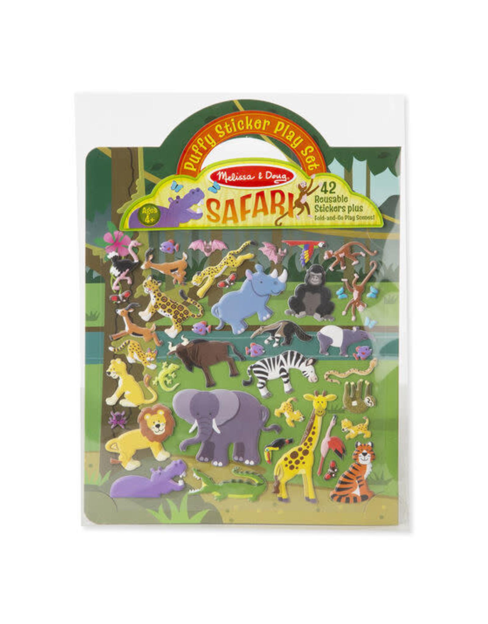 Melissa & Doug Puffy Sticker Play Set-Safari