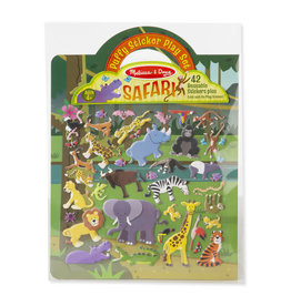 Melissa & Doug Puffy Sticker Play Set-Safari