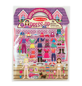 Melissa & Doug Puffy Sticker-Dress Up