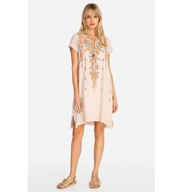 Johnny Was Hevea Notched Neck Draped Tunic