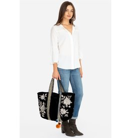 Johnny Was JWLA SANTAL QUILTED TOTE BAG COCO