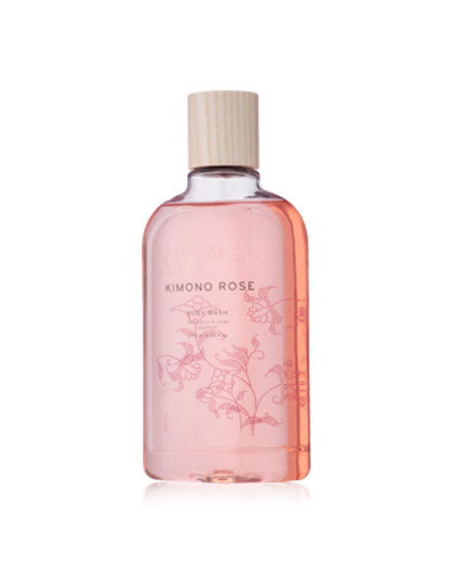 Thymes Kimono Rose Body Wash 9 oz