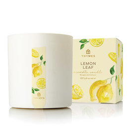 Thymes Lemon Leaf Poured Candle 8oz