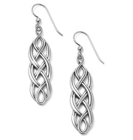 Brighton Interlok Braid French Wire Earrings